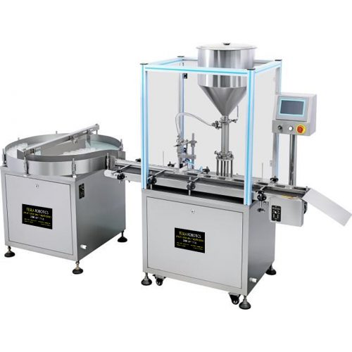 SGZ-G Fully Automatic Cream & Paste Filling Line With Bottle turnable